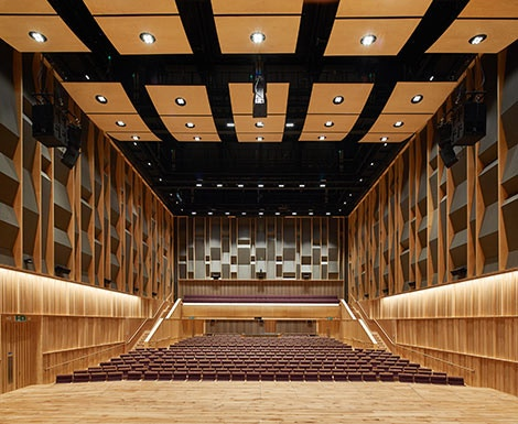 Concert Hall Hire Index