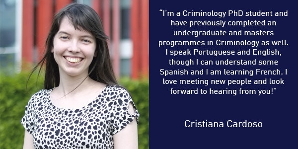 Cristiana Cardoso International Student Buddy Quote 600x300