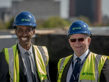 City south topping out news