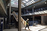 Building works at the new Cuzon Building