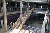 Building work at the new Curzon Building