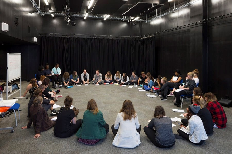 Our drama studio in The Curzon Building.