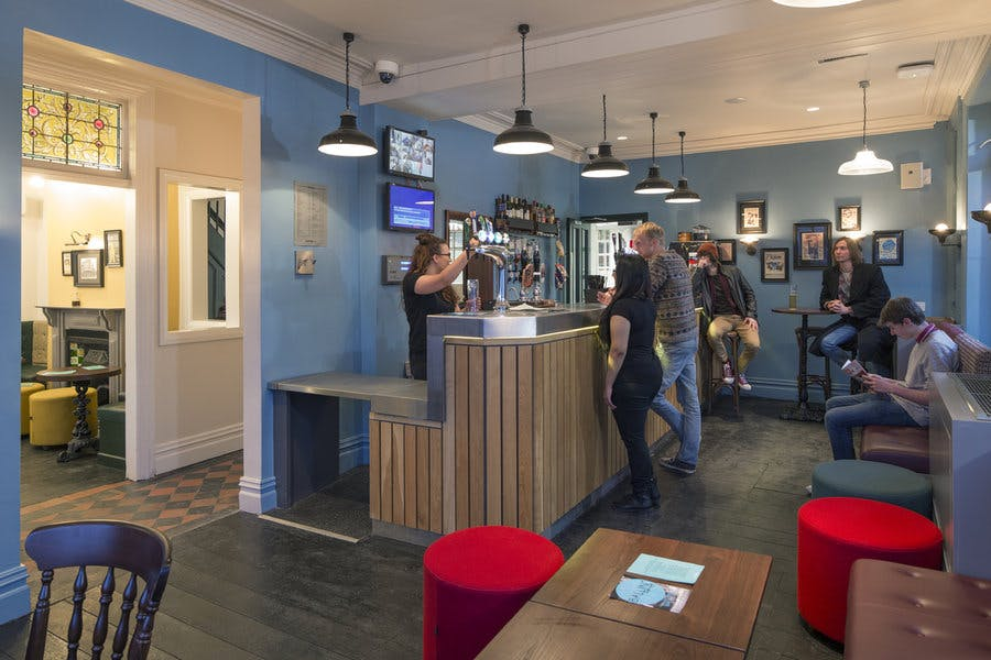 Curzon Building - Eagle and Ball bar
