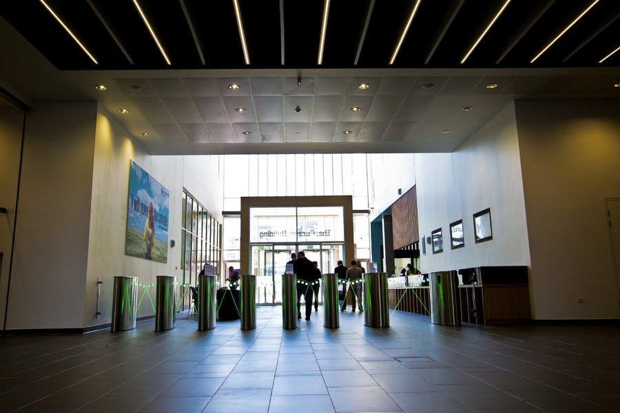 Curzon Building entrance