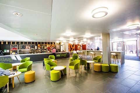 Curzon facilities eatery