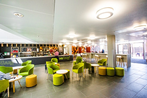 Curzon facilities eatery