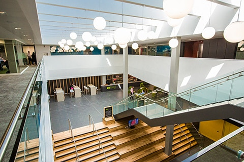 Curzon facilities staircase