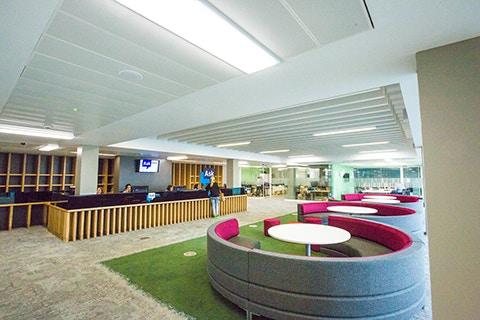 Curzon facilities student hub