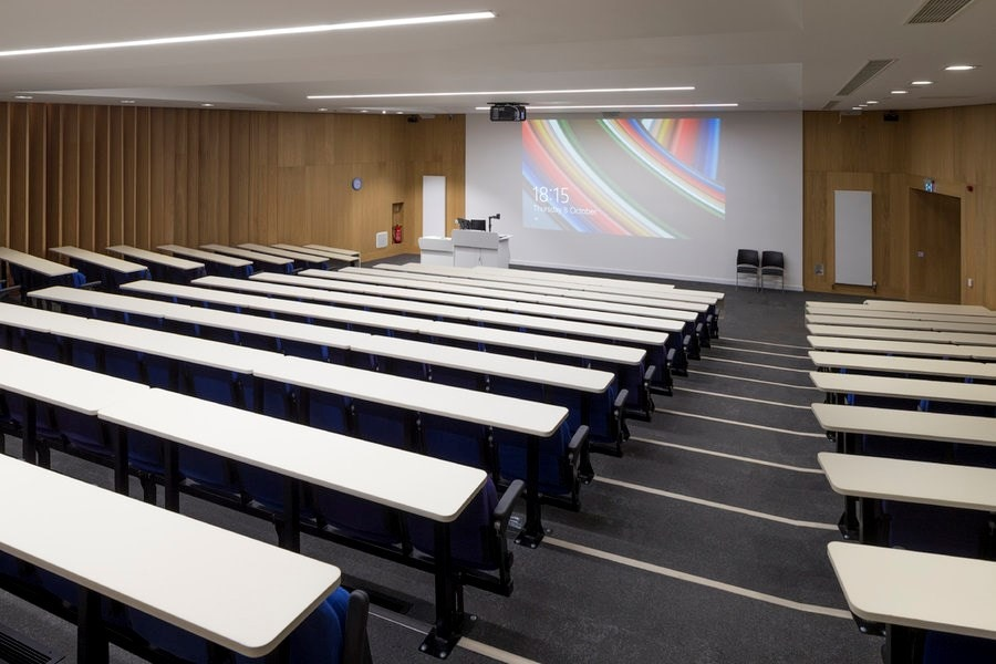 Lecture theatre in The Curzon Building.