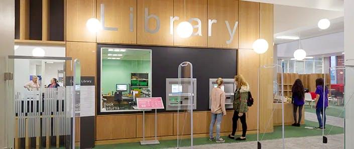 Curzon library entrance