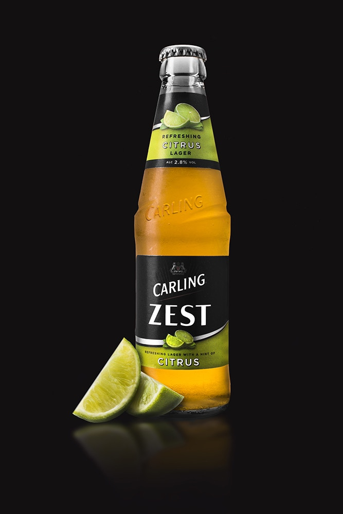 Carling zest lime
