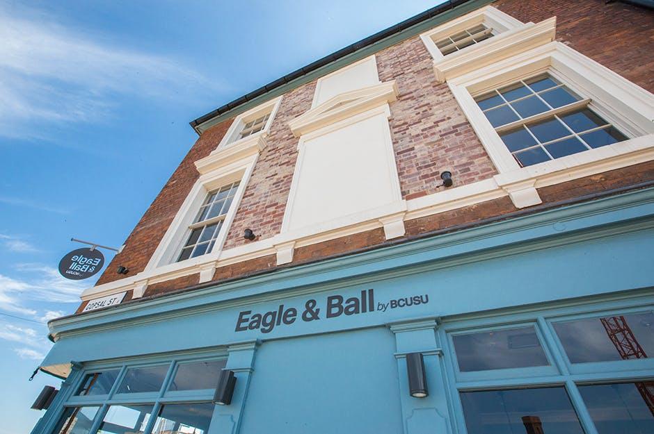 Eagle and Ball
