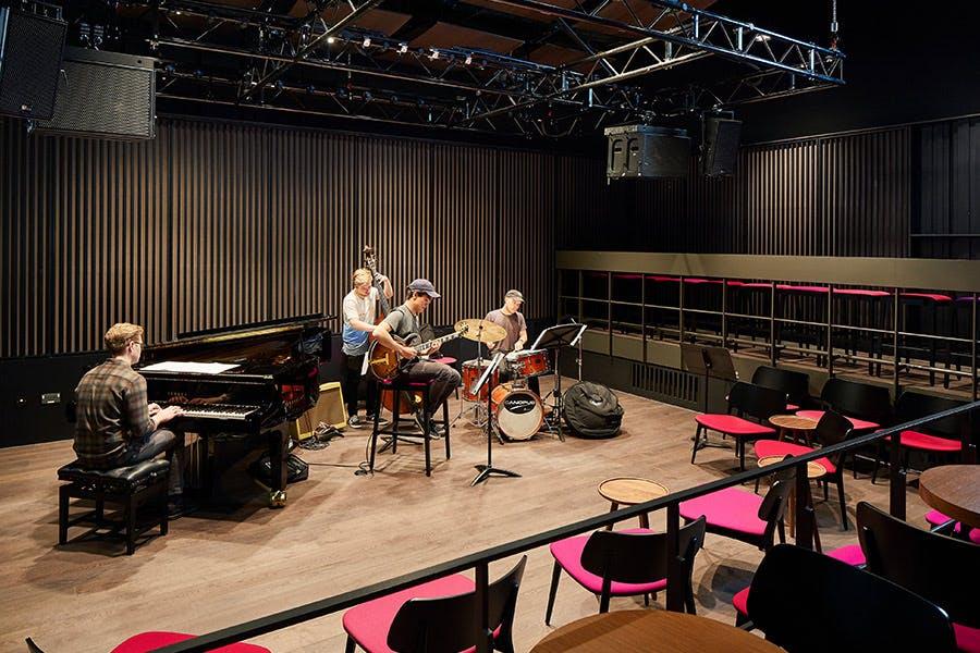 Eastside Jazz Club Copyright Hufton + Crow