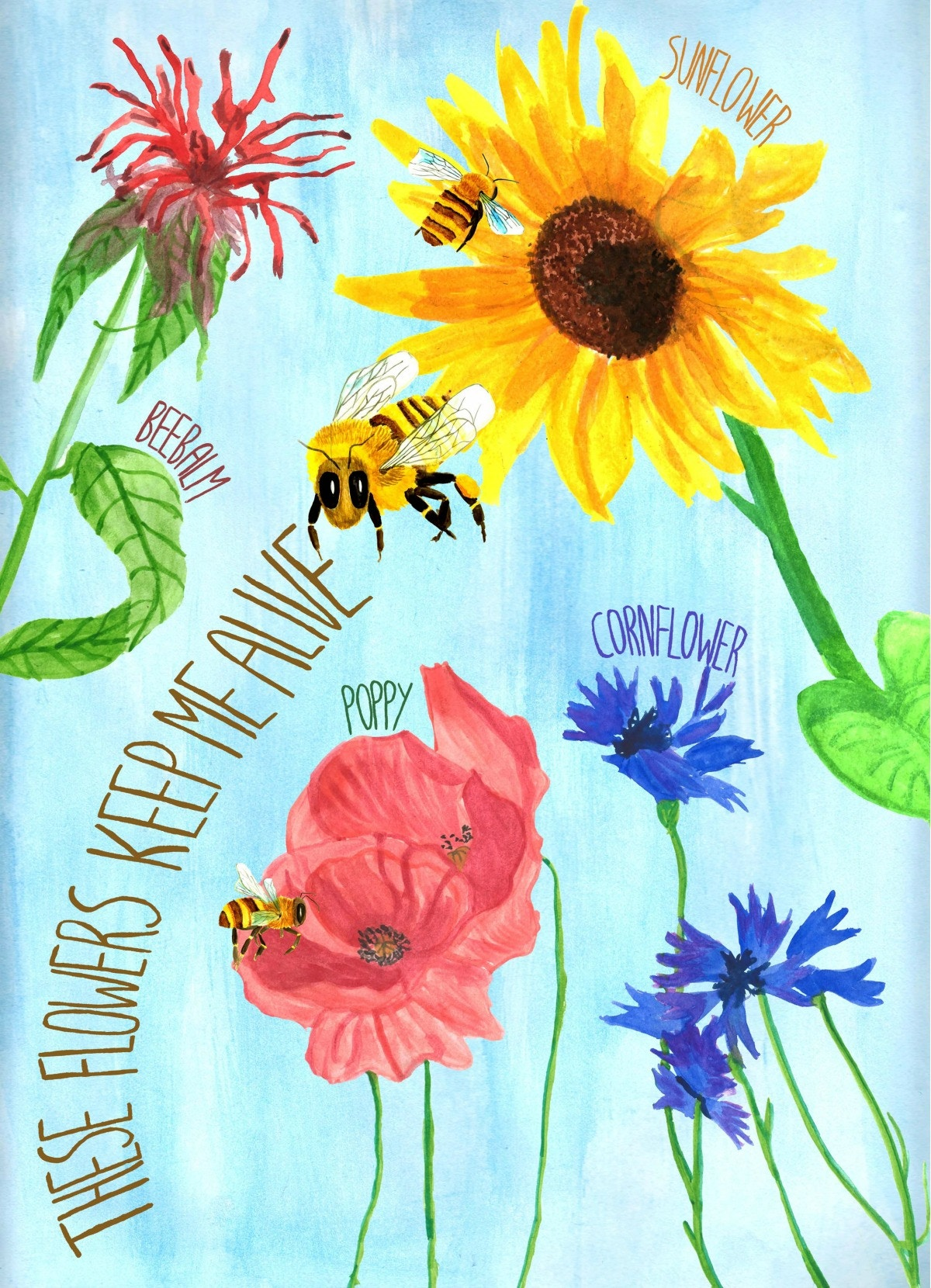Another bee poster