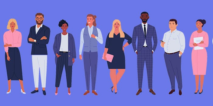 Employability Opportunities 700x350 - Cartoon Business People