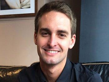 Evan Spiegel, founder of Snapchat