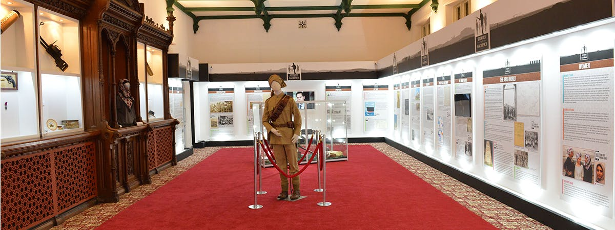 Exhibition pic from Stories of Sacrifice