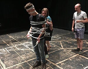 Experimental Performance taped up