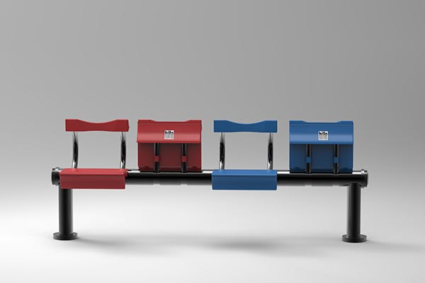 Fanzhi Meng- Short-term transit seating- Flip rest