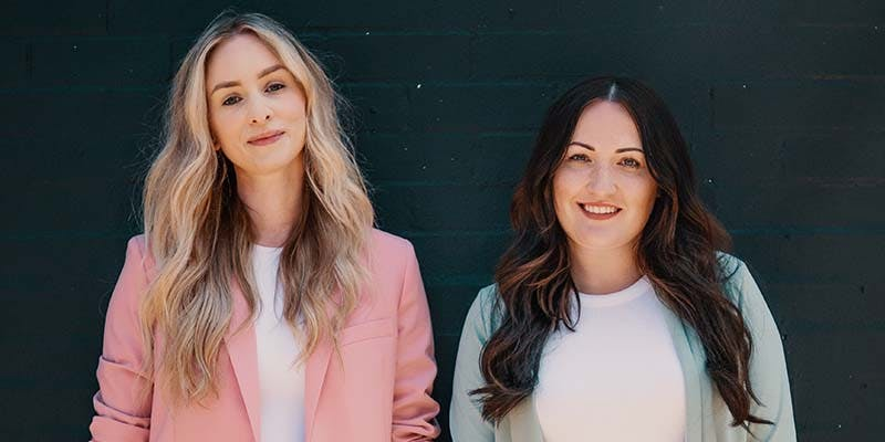 Laura Arrowsmith (left) and Sophie Johnson  (right)