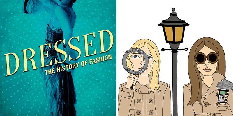 Left: Dressed logo, Right: Fashion No Filter logo