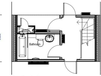 First floor pod layout
