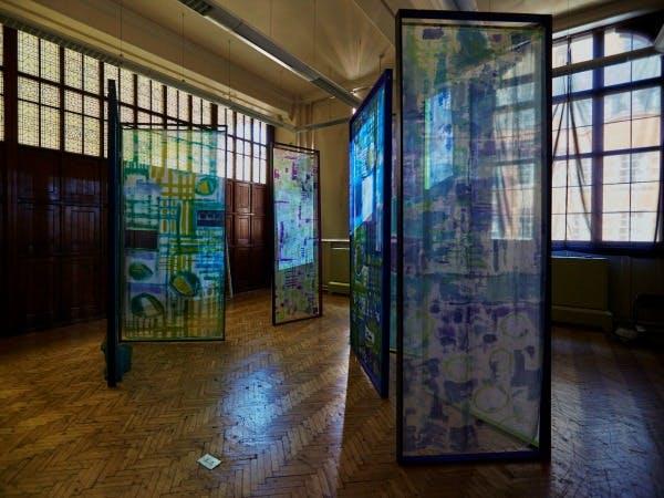 Frances Taylor- art and design student work