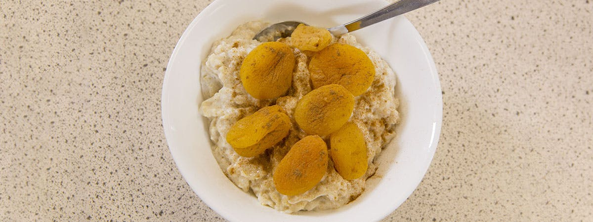 Fruity oats brain food recipe