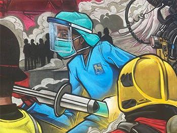 Gent48 mural news story