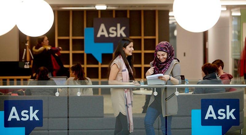 Ask Desk, Curzon Building