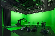 Green screen Television Studio