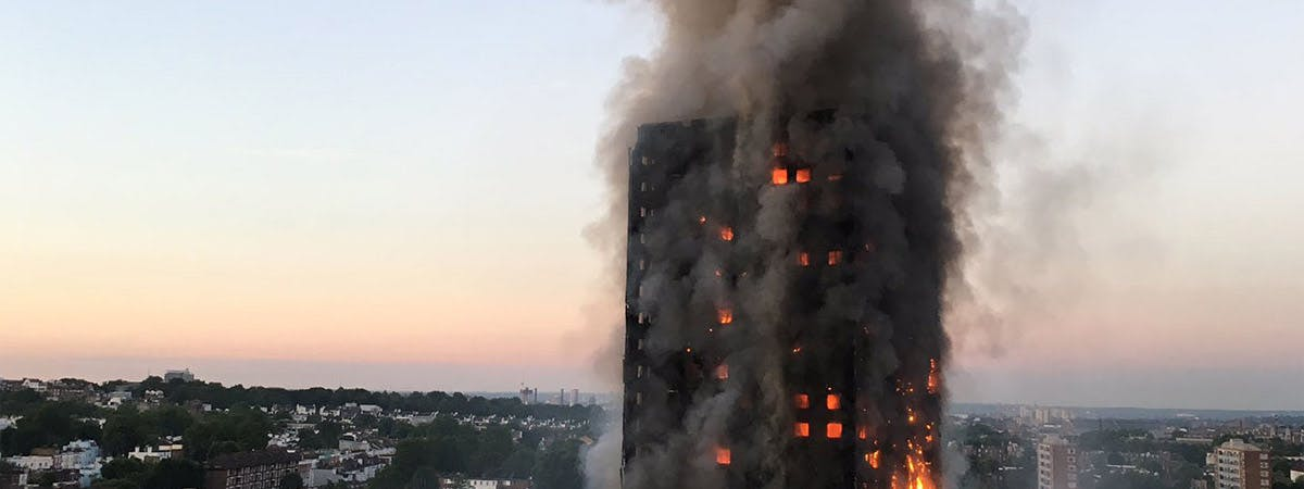 Grenfell Tower 1200x450 - Grenfell Tower on fire