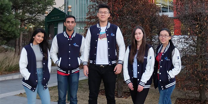 International Student Buddies 700x350 - Group shot outside Curzon