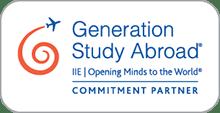 Generation Study Abroad Commitment logo
