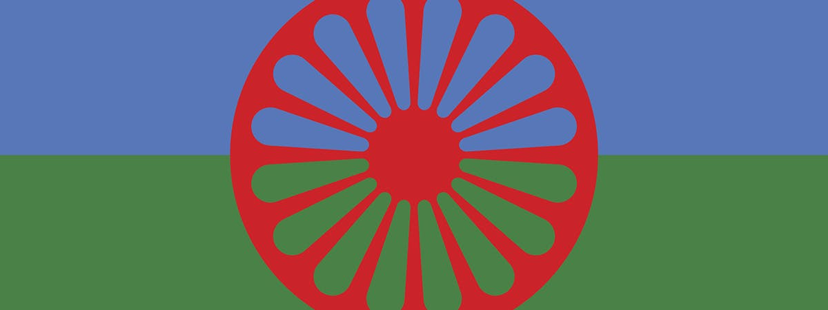 GTR History Month 1200x450 - Romani flag
