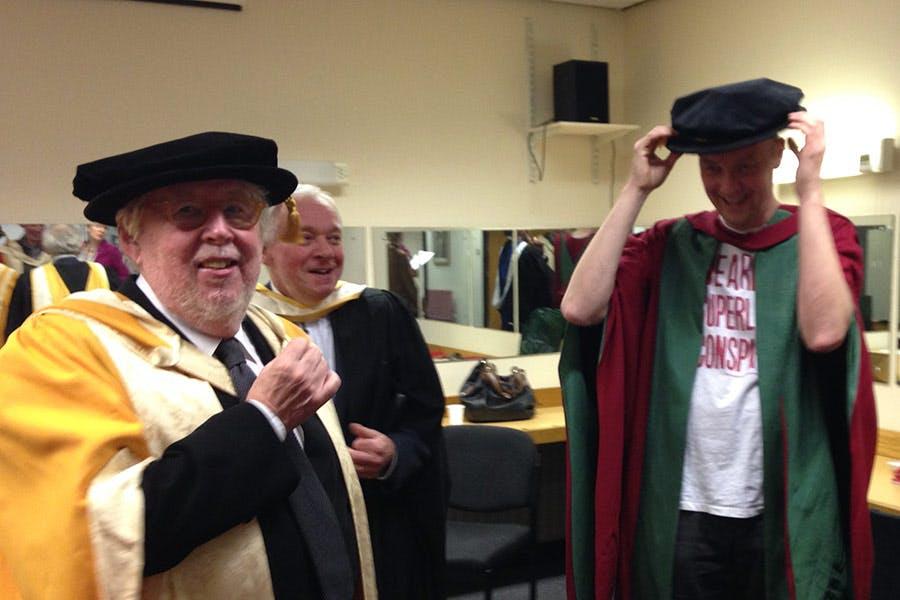 Harrison-Birtwistle-receiving-Honorary-Doctorate