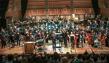 A live performance of 'Hawaii Hawaii Hawaii last year, with Trish Clowes (saxophone), BBC Concert Orchestra and Ben Palmer, Conductor.