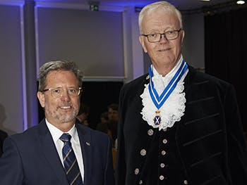 Cliff Allan and High Sheriff