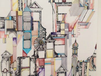 Holly Lloyd Williams- Brighton wallpaper