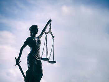 Centre for Brexit Studies Human Rights Image 350x263 - Statue with scales of justice