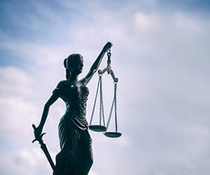 Law School - Research - Research Projects Human Rights Image 300x200 - Scales of Justice Statue