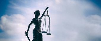 Centre for Brexit Studies Human Rights Image 341x139 - Statue with the scales of justice
