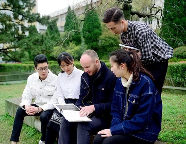 BIFCA students with course leader