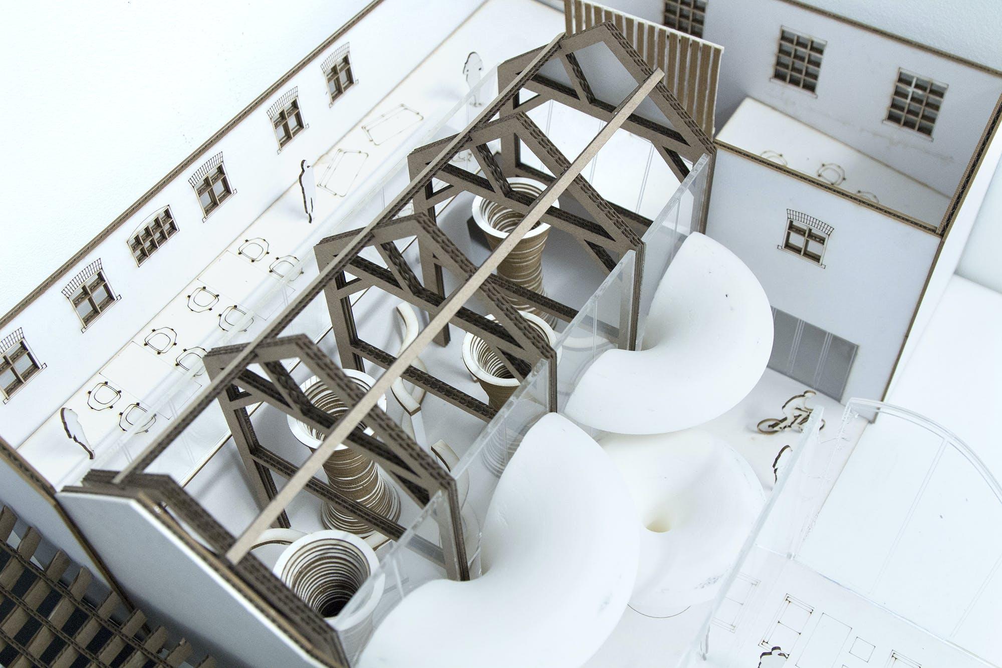 Interior architecture and design student work 4