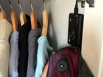 Internet of clothes prototype