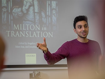 What Milton in Translation Means to Me- Islam speaking- 2017