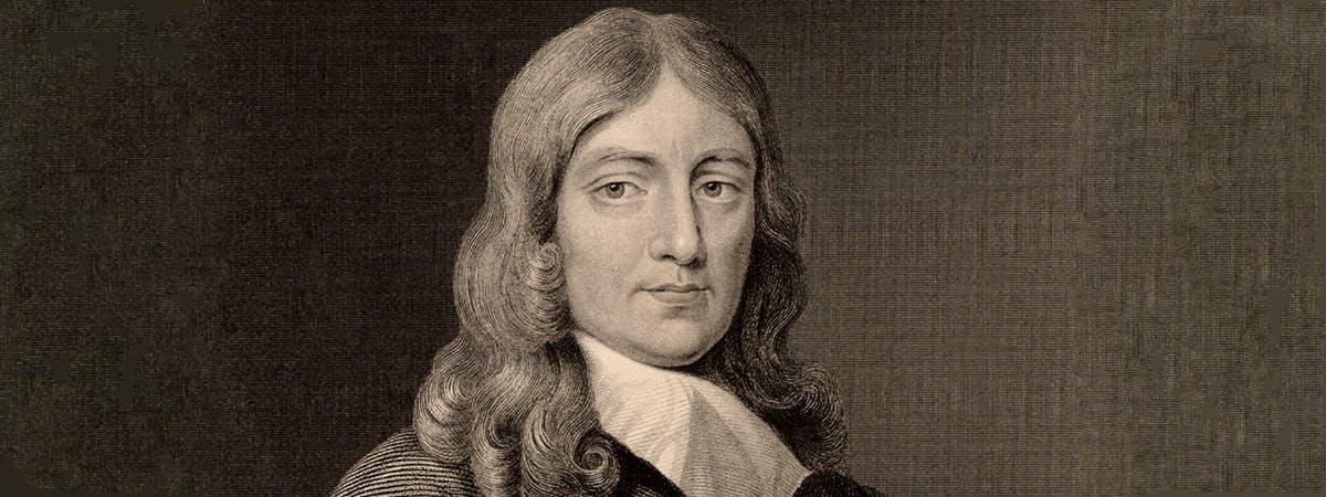 Drawing of John Milton