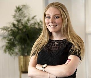 Jodie Perkins PR graduate