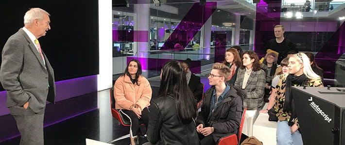 Jon Snow and Journalism students- journalism first semester blog