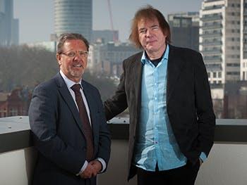 Julian Lloyd Webber and Cliff Allan